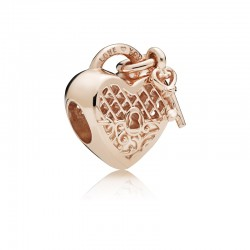 Love You Heart Padlock...