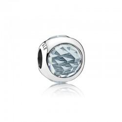 Aqua Blue Radiant Droplet...