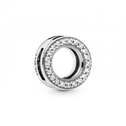 Circle of Pavé Clip Charm...