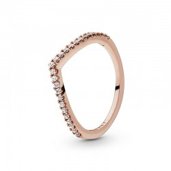 Sparkling Wishbone Ring...
