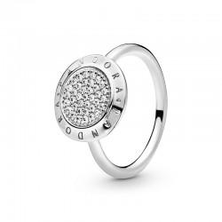 Pandora Logo Pavé Ring...