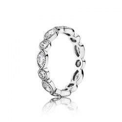Elegant Marquise Band Ring...