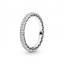 Sparkle & Hearts Ring 190963CZ