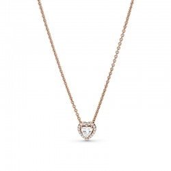 Sparkling Heart Collier...