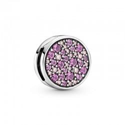 Pink Pavé Clip Charm 799362C01
